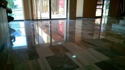 Ремонт и възстановяване на стари мраморни подове