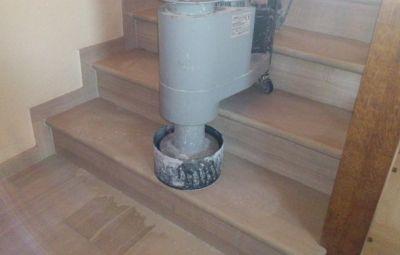 Шлайф и полиране на стъпала и стълбища