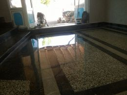 Пълно възстановяване на стари мозаечни подове - Lux настилки - Плевен