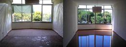 Преди и след поправка чрез шлайфане на мозайка 03 - Lux настилки - Плевен