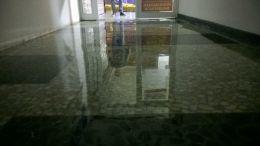 Шлайф на мозайка на болница - Lux настилки - Плевен